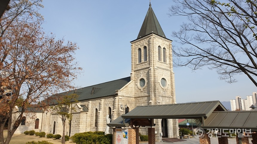 죽림동 성당 [강원도민일보 자료사진]