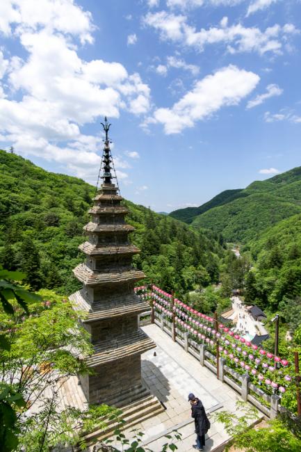 ▲ 정선 수마노탑